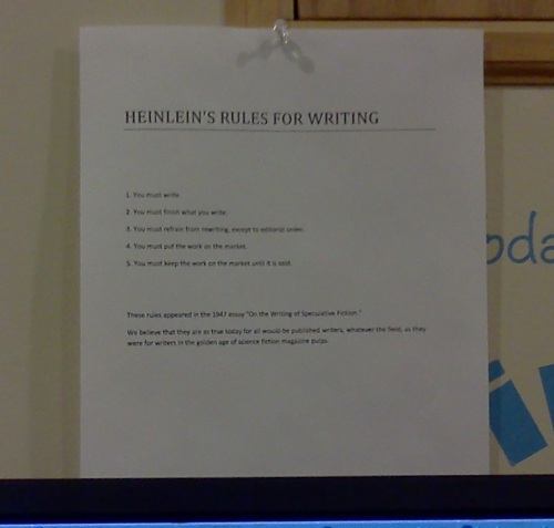 Heinlein's Rules for Writing