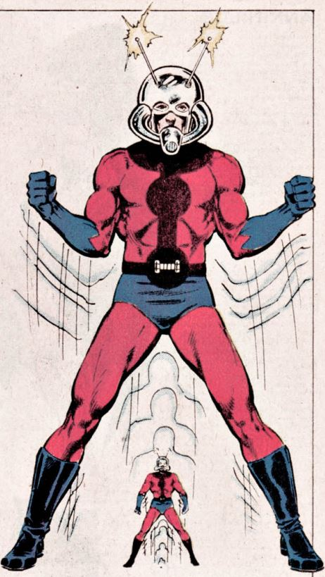 From The Official Handbook of the Marvel Universe, Vol. 1, No. 1, 1983. Art by Brian Postman.
