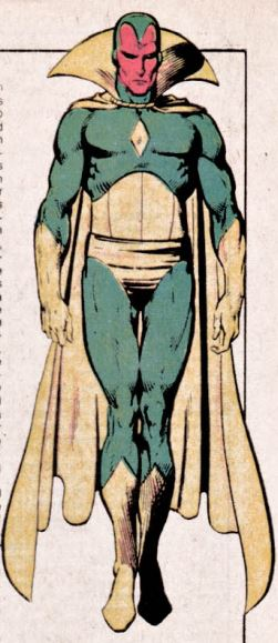 From The Official Handbook of the Marvel Universe, Vol. 1, No. 12, 1983. Art by Paul Smith.