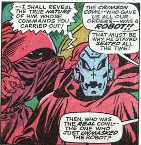 From Avengers #54, Marvel Comics, 1968.