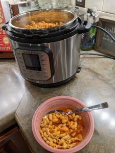 Vegan pasta fagioli